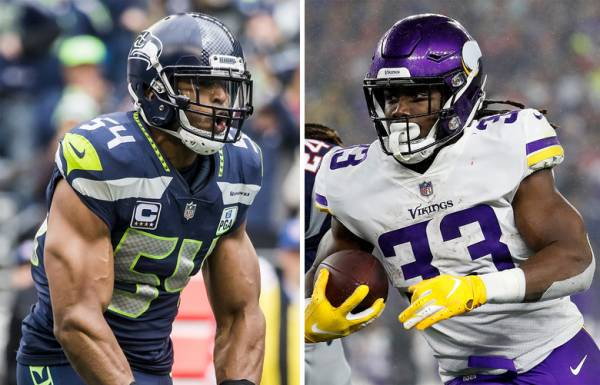 Player With the Most Touchdowns Prop Bet - Vikings vs. Seahawks