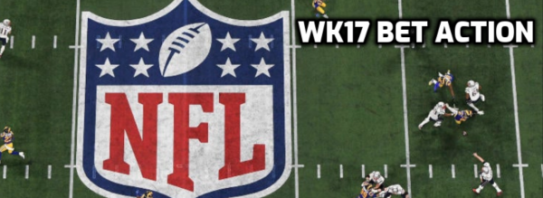 NFL Morning Odds, Action Report - Week 17 2021