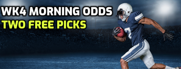 Week 4 NFL Betting Odds, Action Report - 2020