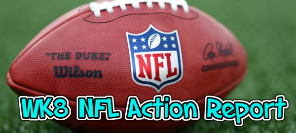 Week 8 NFL Betting Action, Morning Odds