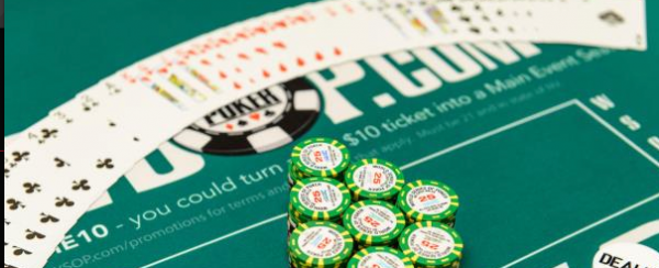 Shuffle Up and Deal…. 2017 WSOP Main Event Cards in the Air