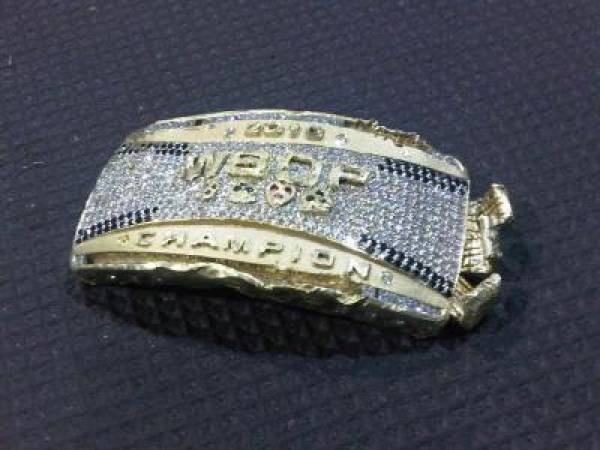 Jonathan Duhamel's 2010 World Series of Poker Bracelet Recovered