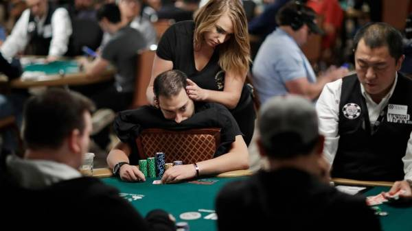Massage Brings Needed Relief to World Series of Poker