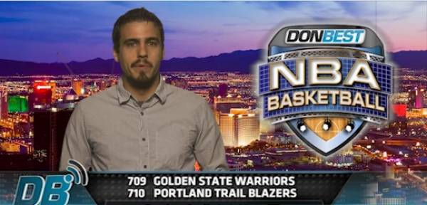 Warriors vs. Blazers Free Pick From Don Best (Video)