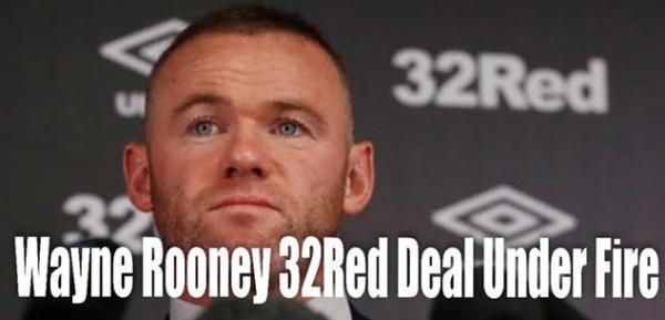 Lawmaker Criticizes Wayne Rooney 32Red Tie-in