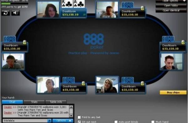 Webcam Online Poker