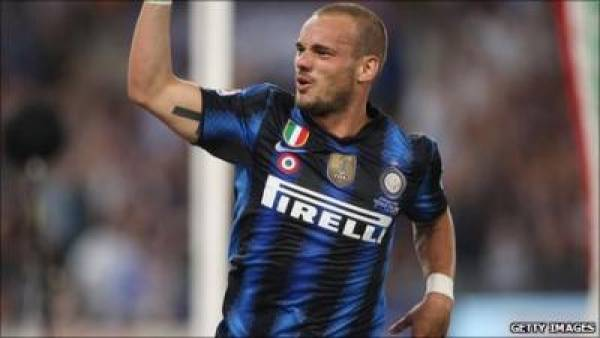 Wesley Sneijder Move to Man United Nike