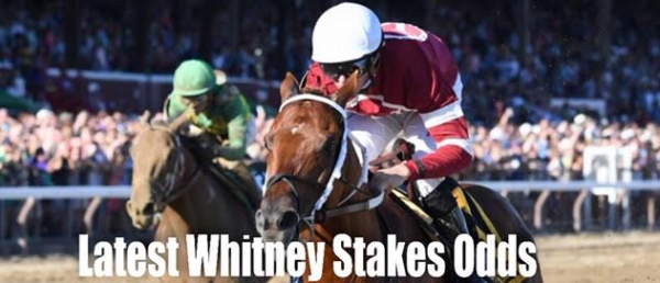 Where Can I Bet the Whitney Stakes Online - 2019?  Odds to Win, Payouts