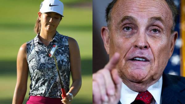 "Michelle Wie West Lashes Out at Giuliani Over ""Panty"" Comments"