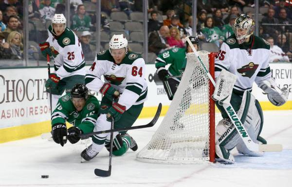 Wild vs. Stars Betting Line – Game 1 Western Conference First Round