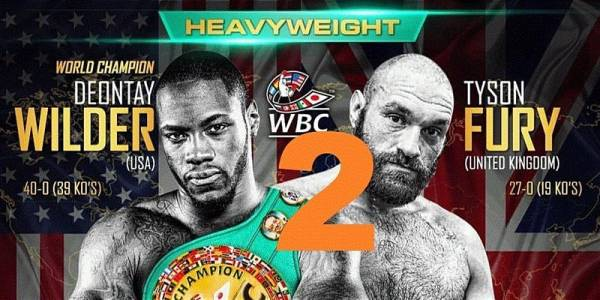 Where Can I Watch, Bet Wilder vs. Fury 2 From Newark, Jersey City, Hoboken, Northern New Jersey