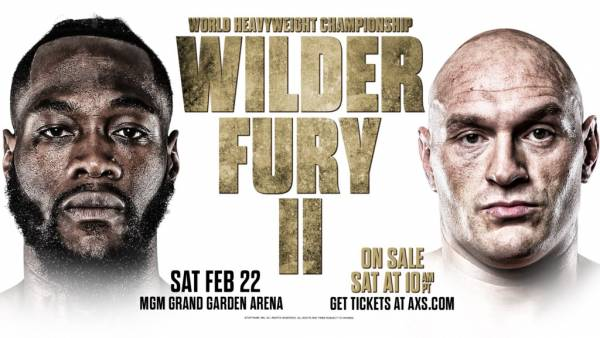 Where Can I Watch, Bet the Wilder vs. Fury 2 Fight From Calgary, Alberta?