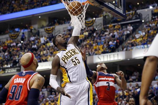 Pacers vs. Wizards Game 6 Betting Line at Washington -4.5