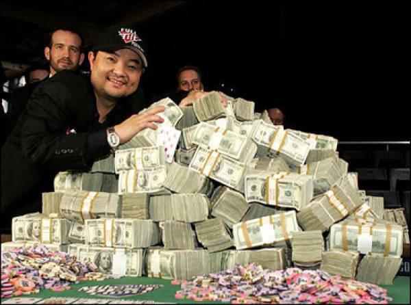 2009 World Series of Poker Leaders