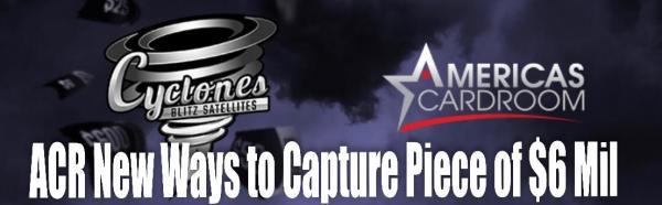 Americas Cardroom Launches Cylones Blitz Satellites for $6 Million Venom