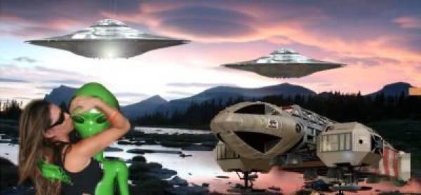 Aliens Visiting Earth
