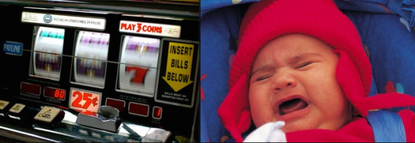 Woman Leaves Infant in Running Car While She Gambles in Casino