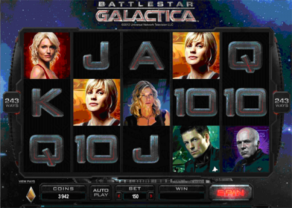 Battlestar Galactica Ranks As A Best Casino Video Slot