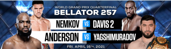 Bellator 257 Betting Odds - Phil Davis vs. Vadim Nemkov