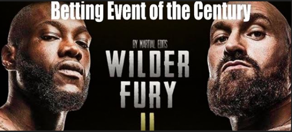 Wilder-Fury 2 Will Likely Be Most Bet on Event of the Year