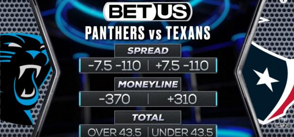 Carolina Panthers vs Houston Texans Expert Predictions. Player Props