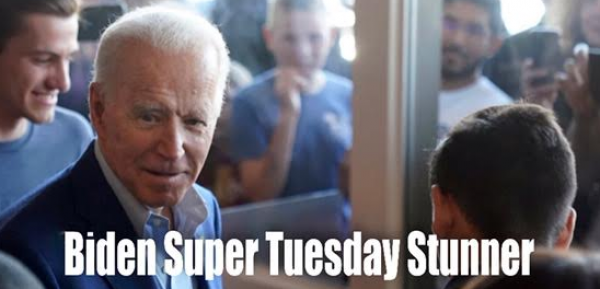 Biden Now Big Favorite to Win Democratic Nomination Post Super Tuesday
