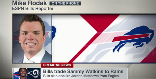 Rams Still Favored to Win Under 5.5 Games in 2017 After Sammy Watkins Trade