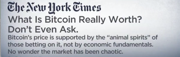What is Bitcoin Really Worth?  Yale Professor Talks its True Value