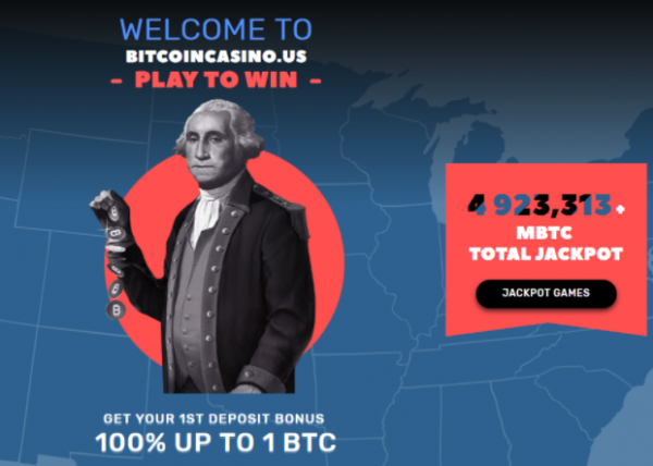 Bitcoin Casino Gambling Site Exclusively for US Players