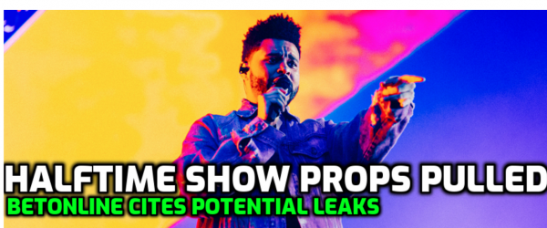 BetOnline Pulls Halftime Show Props Citing Potential Leaks, Thomas Hair Betting Big