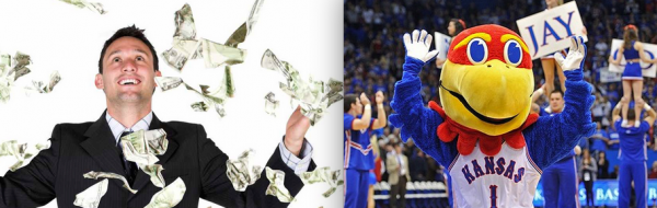 Bookies: Jayhawks See Only 8th Win This Season