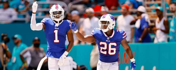 What is the Spread on the Washington Football Team vs. Buffalo Bills Week 3 Game