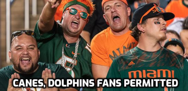 Dolphins, Canes to Allow Fans at Home Openers, Boosting Home Field Advantage