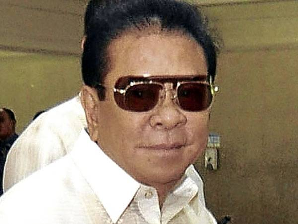 Chavit Singson Claims to be Victim of the Robert Gustafsson Gang