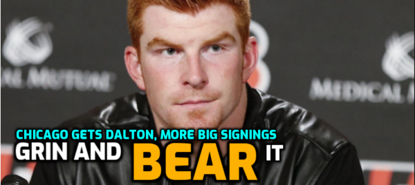 Chicago Gets Andy Dalton: Odds 33-1 to 50-1