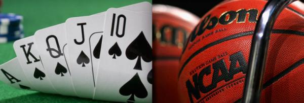 Poker Buddies Meet in NCAA Men's Basketball Championship Game
