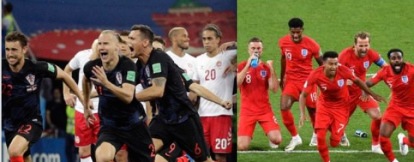 England vs. Croatia Betting Odds - World Cup Semi Final