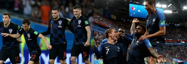 Croatia vs. France Betting Odds - 2018 World Cup Final