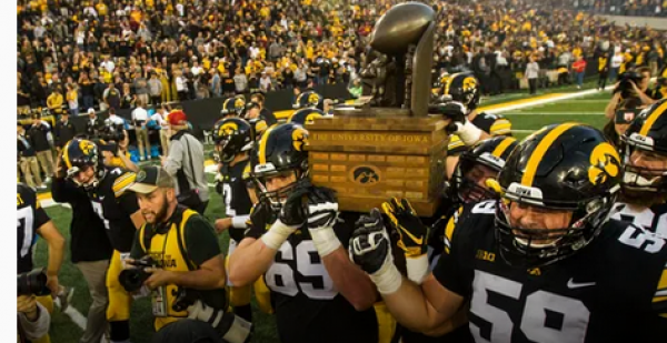 Where Can I Bet The 2019 Cy-Hawk Game From Iowa