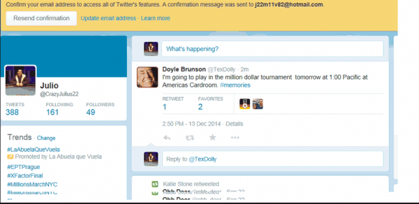 Doyle Brunson to play the One Million Dollar Tourney on AmericasCardRoom