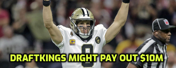 Draftkings Week 2 Losses Staggering