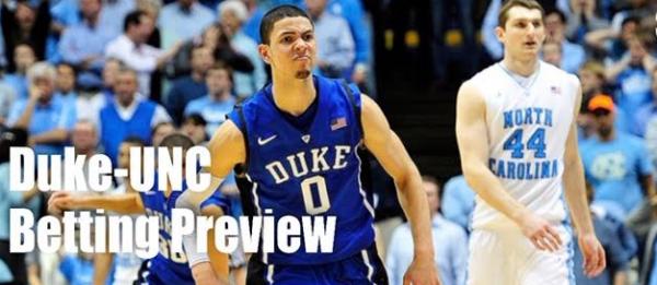 College Basketball Betting – Duke Blue Devils at North Carolina Tar Heels