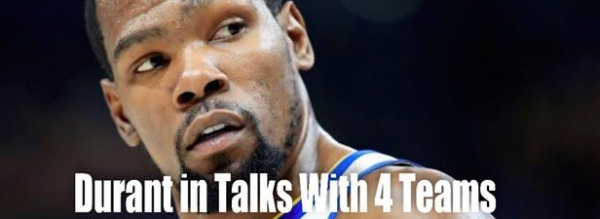 Kevin Durant Speaking With Four Teams - Latest Odds