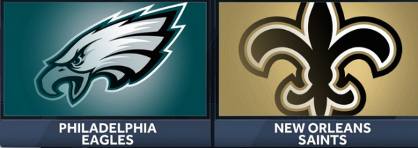 Eagles-Saints Line Opens at NO -9