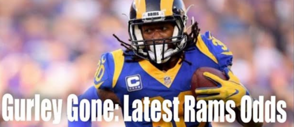 Gurley Shipped Off By Rams: LA Now 50-1 to Win Super Bowl