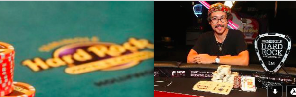 Introducing Champion of the Seminole Hard Rock Poker Open