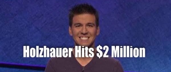 Holzhauer Hits $2 Million