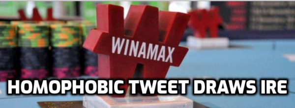 Winamax Under Fire for Homophobic Tweet