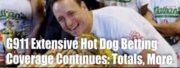 What To Bet: 2019 Nathan's Hot Dog Eating Contest Totals