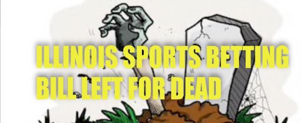 Illinois Sports Betting Bill All But Dead